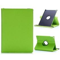 Groen 360 graden lychee draaibare hoes iPad Air 2