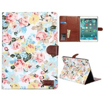Bloemendesign hoes wit iPad Air