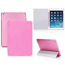 2-in-1 roze cover hoes iPad Air