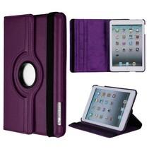 Paarse 360 graden hoes iPad Mini / 2 / 3