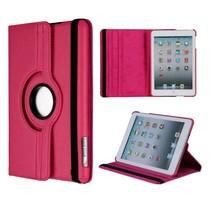 Donkerroze 360 graden hoes iPad Mini / 2 / 3