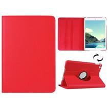 Rood 360 graden draaibare hoes iPad Mini 4