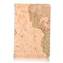 Wereldkaart flipstand hoes iPad Mini 4