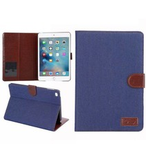 Blauwe jeans flipstand hoes iPad Mini 4