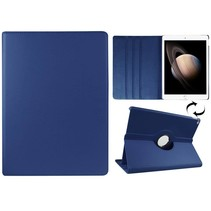 Blauwe 360 graden draaibare hoes iPad Pro