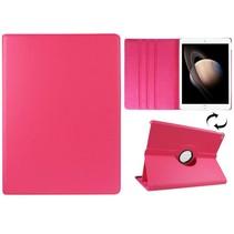 Roze 360 graden draaibare hoes iPad Pro
