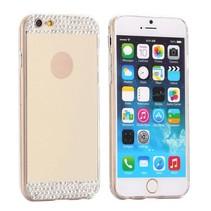Gouden diamantjes hardcase hoesje iPhone 6 / 6s