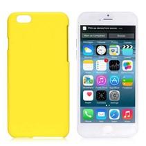 Geel hardcase hoesje iPhone 6 / 6s