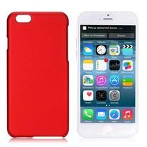 Rood hardcase hoesje iPhone 6 / 6s