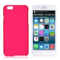 Donkerroze hardcase hoesje iPhone 6 / 6s