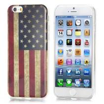 Amerikaanse vlag IMD craft TPU hoesje iPhone 6 / 6s
