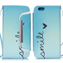 Smile 2-in-1 book + backcover hoes iPhone 6 / 6s