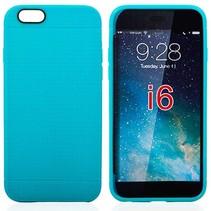 Blauw mesh TPU hoesje iPhone 6 / 6s