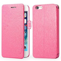 Silk series roze Bookcase hoes iPhone 6 / 6s