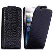 Slangen zwarte Flip Case hoes iPhone 6 / 6s