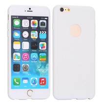 Logo wit siliconen hoesje iPhone 6 / 6s