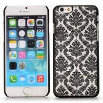 Elegante bloemen hardcase hoesje iPhone 6 / 6s