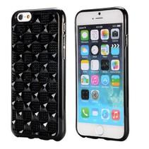 Zwarte diamanten hardcase hoes iPhone 6 / 6s