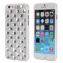 Zilveren diamanten hardcase hoes iPhone 6 / 6s
