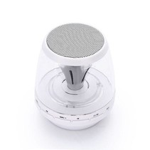 LED Licht Mini Bluetooth Speaker - Wit