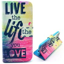 Live the Life You Love Booktype  iPhone 6(s) Plus