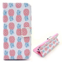 Ananas stijlvol Bookcase hoesje iPhone 6(s) Plus