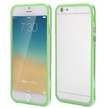 Groen / transparante bumper iPhone 6(s) Plus