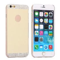 Gouden spiegel hardcase hoes iPhone 6(s) Plus