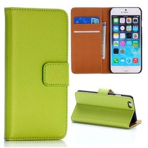 Groen modern Bookcase hoes iPhone 6(s) Plus