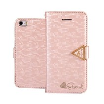 Eternal roze Bookcase hoes iPhone 6(s) Plus