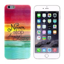 Never stop dreaming TPU hoesje iPhone 6(s) Plus