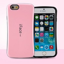 Roze hybrid hoes iPhone 6(s) Plus