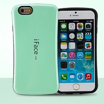 Mintgroene hybrid hoes iPhone 6(s) Plus