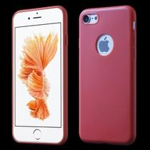 Rood TPU Hoesje iPhone 7