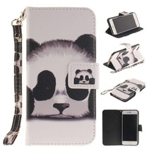 Panda Bookcase Hoesje iPhone 7