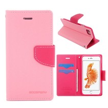 Goospery Roze Bookcase Hoesje iPhone 7