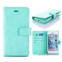 Goospery Cyaan Wallet Hoesje iPhone 7