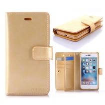 Goospery Goud Wallet Hoesje iPhone 7