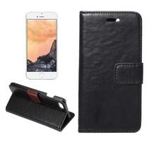 Zwart Bookcase Hoesje iPhone 7