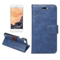 Blauw Bookcase Hoesje iPhone 7