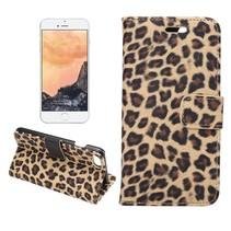 Luipaard Bookcase Hoesje iPhone 7