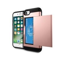 Rozegoud Pasjeshouder Hybrid Hoesje iPhone 7