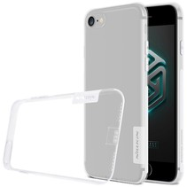 Wit / Transparant TPU Hoesje iPhone 7