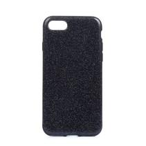 Zwart Glitters TPU Hoesje iPhone 7