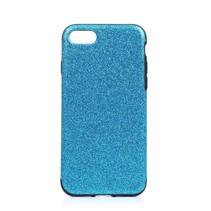 Blauw Glitters TPU Hoesje iPhone 7