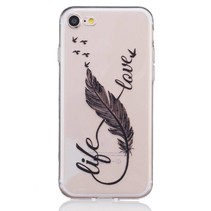 Life Love TPU Hoesje iPhone 7