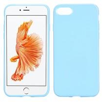 Babyblauw TPU Hoesje iPhone 7