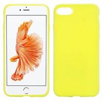 Geel TPU Hoesje iPhone 7