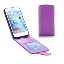 Paars Flip Case Hoesje iPhone 7