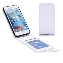 Wit Flip Case Hoesje iPhone 7
